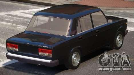 VAZ 2107 Stock V2.1 for GTA 4