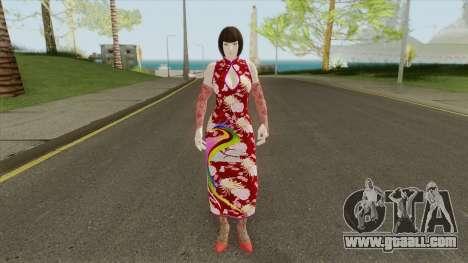 Anna Williams V1 (Tekken) for GTA San Andreas
