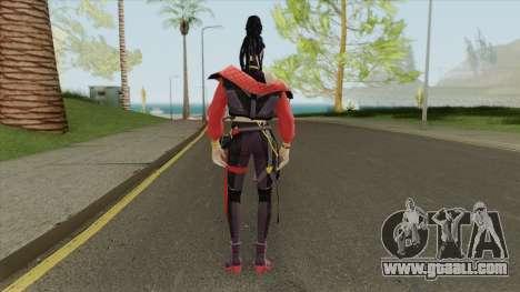 Trap Girl Moco (Free Fire) for GTA San Andreas