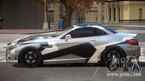 Mercedes SLK55 RG38 PJ4 for GTA 4