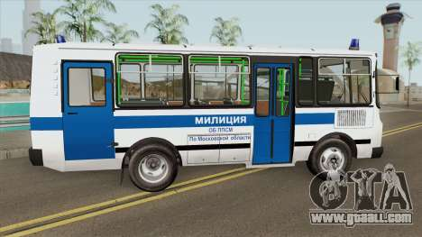 PAZ 3205 Militia (HQ) for GTA San Andreas