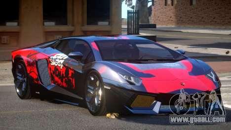 Lamborghini Aventador LP700 RP PJ1 for GTA 4