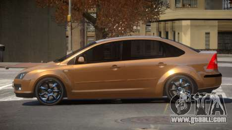 Ford Focus SN for GTA 4