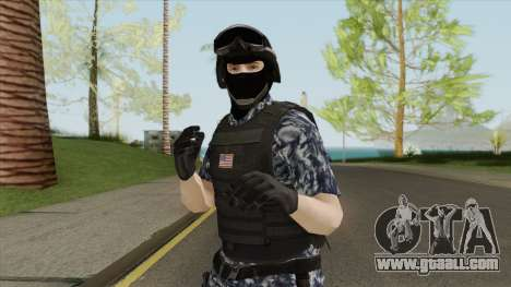 Navy Army Soldier for GTA San Andreas