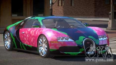Bugatti Veyron 16.4 RT PJ5 for GTA 4