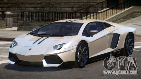 Lamborghini Aventador JRV PJ4 for GTA 4
