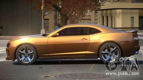 Chevrolet Camaro ZL1 V2.2 for GTA 4