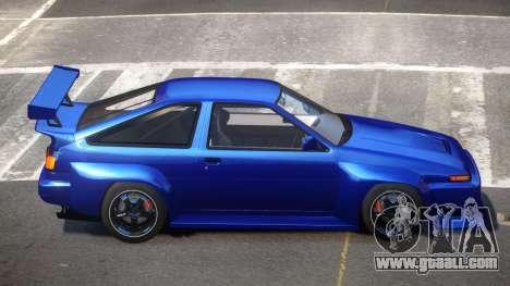 Toyota Corolla GT S-Tuning for GTA 4