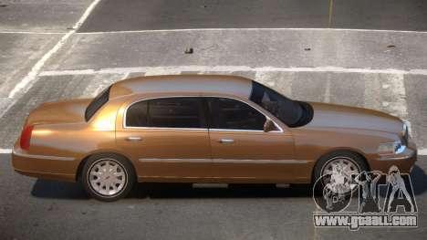 Lincoln Town Car V1.1 for GTA 4