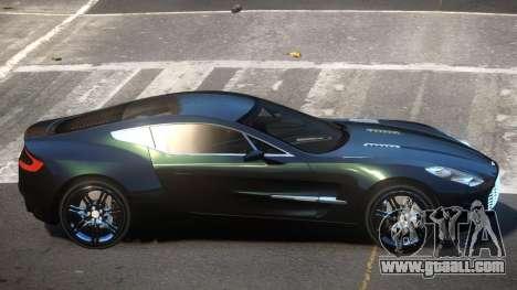 Aston Martin One-77 GT for GTA 4