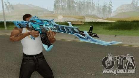 AK-47 (Unicorn Ice) for GTA San Andreas