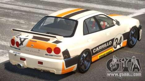 Nissan Skyline R34 D-Style PJ3 for GTA 4