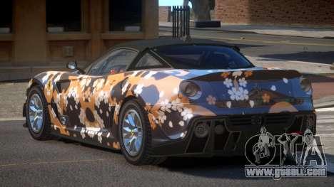 Ferrari 599XX R-Tuning PJ2 for GTA 4