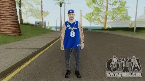 Random Male V1 (Los Angeles Lakers) for GTA San Andreas