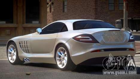 Mercedes Benz SLR E-Style for GTA 4