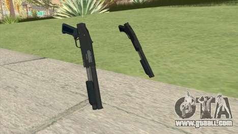 Sawed-Off Shotgun GTA V (LSPD) for GTA San Andreas