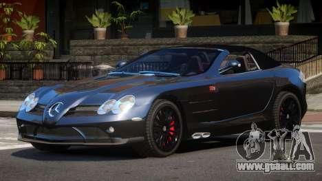 Mercedes-Benz SLR RTF for GTA 4