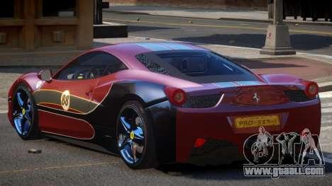 Ferrari 458 SRI-37 PJ6 for GTA 4