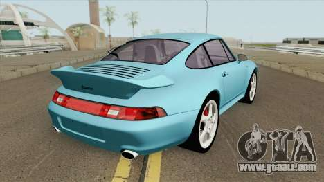 Porsche 911 (993) Turbo 1997 for GTA San Andreas