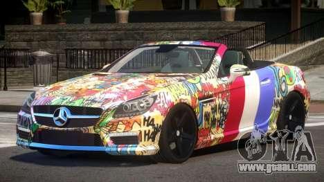 Mercedes Benz SLK DDS PJ5 for GTA 4