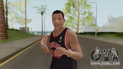 Franklin Clinton (Chicago Bulls) for GTA San Andreas