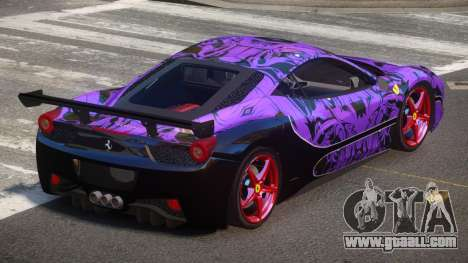 Ferrari 458 SRI-37 PJ5 for GTA 4