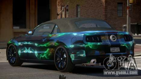 Ford Mustang GT CDI PJ1 for GTA 4