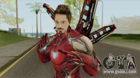 Iron Man Mark 85 (Unmasked) for GTA San Andreas