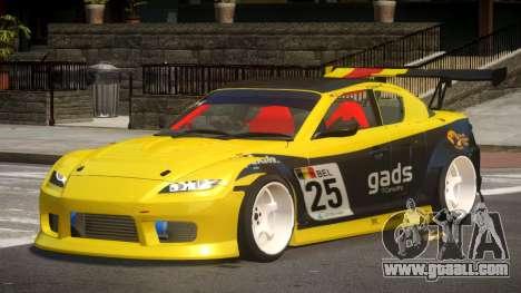 Mazda RX8 S-Tuned PJ5 for GTA 4
