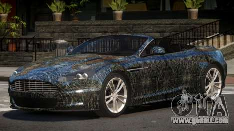 Aston Martin DBS Volante PJ4 for GTA 4