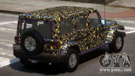 Jeep Wrangler LT PJ4 for GTA 4