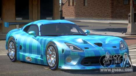 Dodge Viper SRT L-Tuning PJ5 for GTA 4