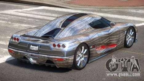 Koenigsegg CCX S-Tuned PJ6 for GTA 4