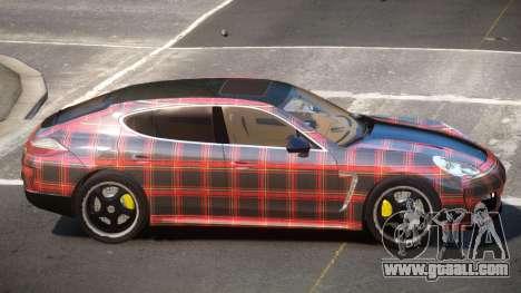 Porsche Panamera ML PJ5 for GTA 4