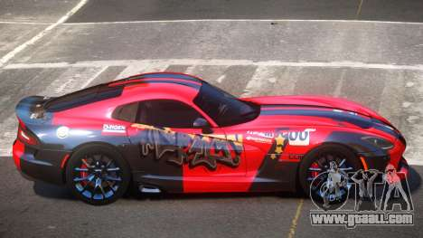 Dodge Viper SRT D-Tuned PJ1 for GTA 4