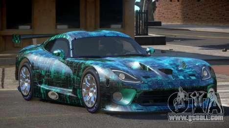 Dodge Viper SRT L-Tuning PJ2 for GTA 4