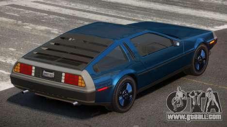 De Lorean DMC12 ST for GTA 4