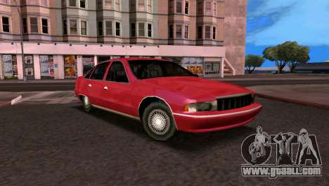 Chevrolet Caprice 1993 SA Style for GTA San Andreas