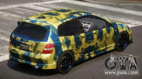 Honda Civic Type R-Tuned PJ4 for GTA 4