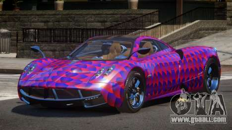 Pagani Huayra GBR PJ6 for GTA 4