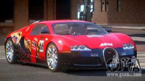 Bugatti Veyron 16.4 S-Tuned PJ2 for GTA 4