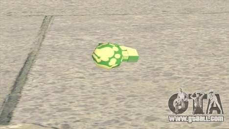 Modified Grenade for GTA San Andreas