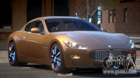 Maserati Gran Turismo S-Tuned for GTA 4