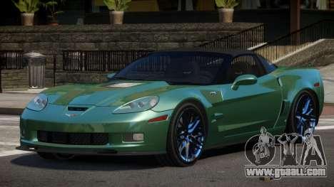 Chevrolet Corvette SE for GTA 4