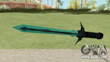Frozen SCI-FI Sword for GTA San Andreas