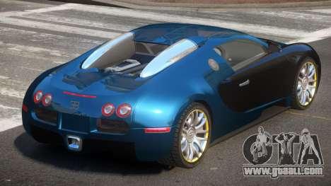 Bugatti Veyron 16.4 S-Tuned for GTA 4