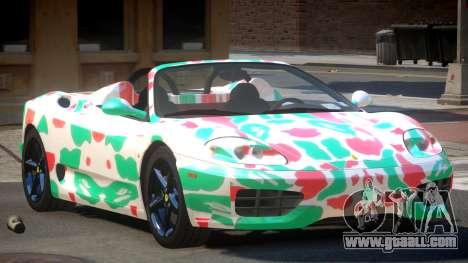 Ferrari 360 SR PJ5 for GTA 4