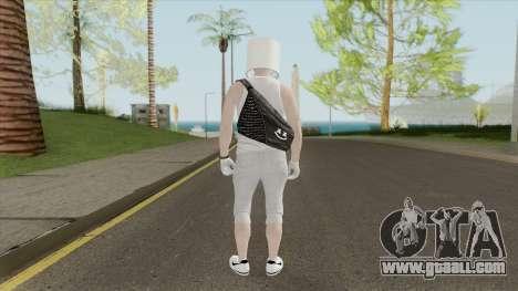 Marshmello V5 (GTA Online) for GTA San Andreas