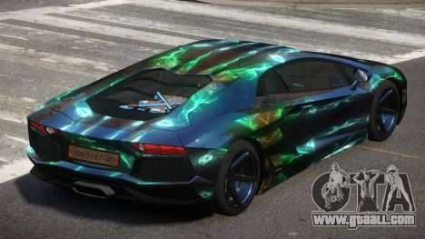 Lamborghini Aventador S-Style PJ5 for GTA 4