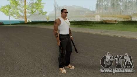 Sawed-Off Shotgun GTA V (Orange) for GTA San Andreas